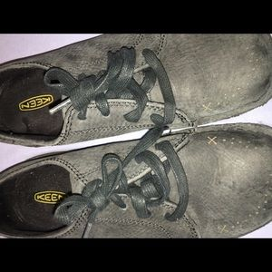 Keen blue gray shoes
